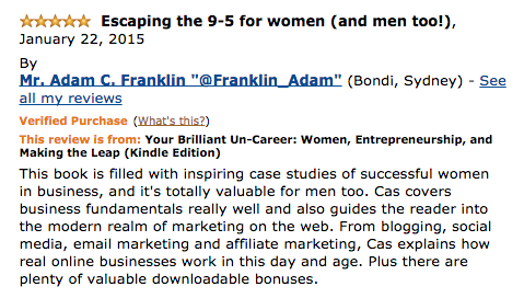 adam franklin review